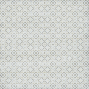 Quatrefoil 02 Paper- Blue & Brown