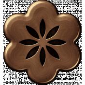 Brass Flower 05