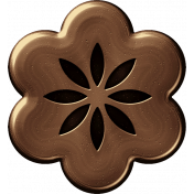 Brass Flower 05