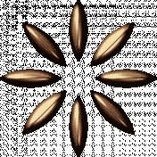 Brass Flower 06