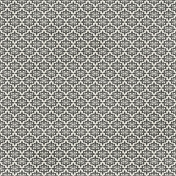 Damask 29 Paper- White & Gray