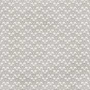 Damask 30 Paper- White & Gray