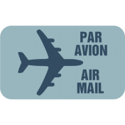 Air Mail Tag 01