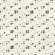 Polka Dots 17 Paper- White & Gray