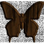 Wood Butterfly