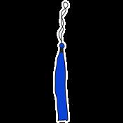Grad Tassel- Blue