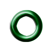 Dark Green Eyelet