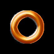Orange Eyelet