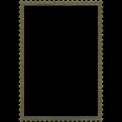 Army Stamp Frame 3x5
