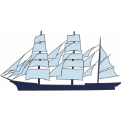 Coast Guard Eagle Sailing Ship