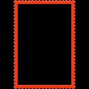 Coast Guard Stamp Frame 3x5