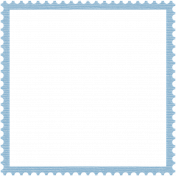 Coast Guard Stamp Frame 4x4