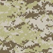 Army Camo Paper 02- Green