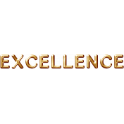 Excellence Word Art