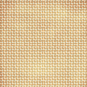Houndstooth 01 Paper- Orange & White