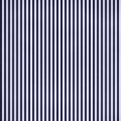Stripes 54 Paper- Blue & White