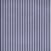 Stripes 54 Paper- Blue & White