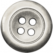 Button 33- White