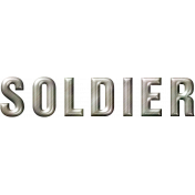 Soldier Word Art