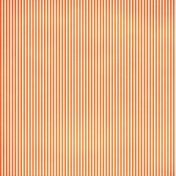 Stripes 54 Paper- Orange & White