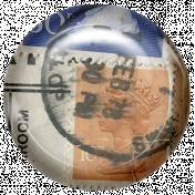 Euro Stamp Brad 9