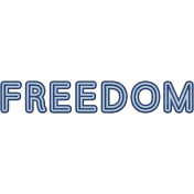 Freedom Word Art (Coast Guard)