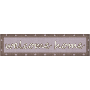 Welcome Home Tag (Marines)