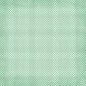 Polka Dots 19 Paper- Teal
