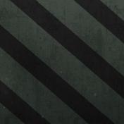 Stripes 26 Paper- Green & Black