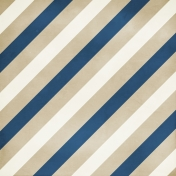 Stripes 119 Paper- Navy