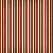 Stripes 35 Paper- Red & Brown