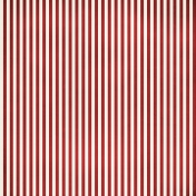 Stripes 54 Paper- Red & White