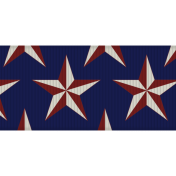 USA Stars Ribbon