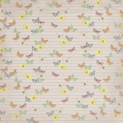 Paper 041- Butterflies- Tan