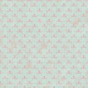 Paper 046- Damask- Mint & Pink