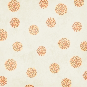 Paper 011- Floral- White & Yellow
