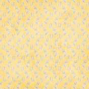 Paper 012- Floral- Yellow