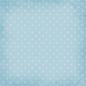 Polka Dots 01 Paper - Blue & White