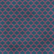 Quatrefoil 06 Paper - Blue & Purple
