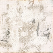 Distressed 34 Paper- White
