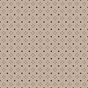 Polka Dots 27 Paper- Brown & Black