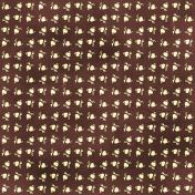 Floral 04- Brown