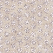 Floral 12 Paper - White & Purple
