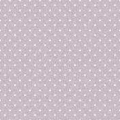 Stars 09 Paper- Purple & White