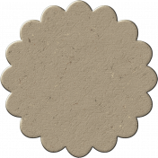 Chipboard Flower 01