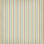 Stripes 37 Paper- Blue & Brown