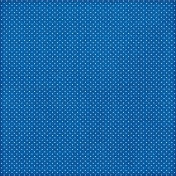 Polka Dots 17 Paper - Blue & White