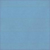 Paper 028- Stripes- Blue & White