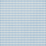Argyle 09 Paper- Light Blue & White