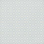 Quatrefoil 08 Paper- Light Blue & White